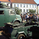 historischer Wagenpark
