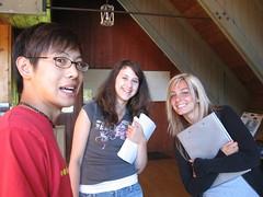 Steve, Amanda, and Renée