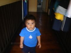 Nacho en la casa de su madrina
