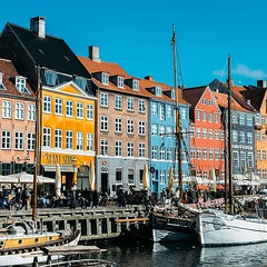 The colorful houses of Nyhavn. #Theworldwalk #travel #denmark