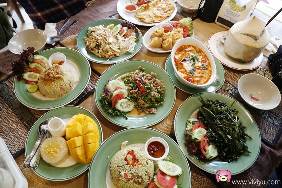 [清邁美食]Cafe de Thaan Aoan泰式料理.早午餐~位於柴迪隆寺/Wat Chedi Luang斜對面 @VIVIYU小世界