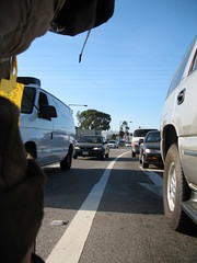 Lane-splitting is legal in California