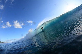 surfing at St Leu