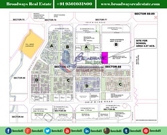 sector-88-and-89-mohali-site-map