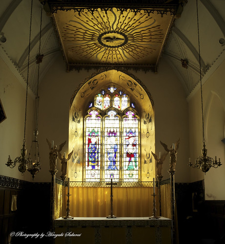High Altar; St. Mary's Church, Bishops Lydeard, Somerset