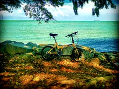 Straits of Malacca https://goo.gl/maps/2w6RpsoPXQB2  #travel #holiday #Asian #Malaysia #Malacca #travelMalaysia #holidayMalaysia #旅行 #度假 #亚洲 #马来西亚 #马六甲 #melaka #trip #马来西亚旅行 #traveling #beach #海滩 #pantai #bluesky #outdoor #bicycle #自行车 #stong #batu #马来西亚度