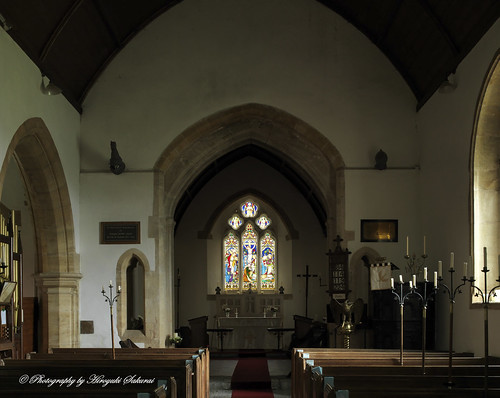 The Nave; St. Michael's Church, Enmore, Somerset