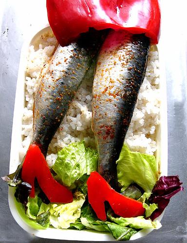 sardine bento(u) by chotda.