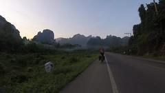 Fahrt am Morgenfrüh