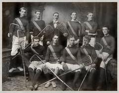 Williamstown Lacrosse Club - 1899 Team Photo