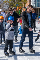 Nick & Lucas on ice
