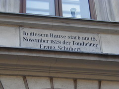 Home of Franz Schubert - Vienna, Austria - whe...