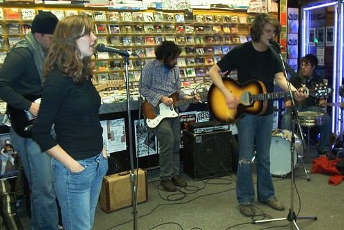 Orillia Opry live! in-store performance at Music Trader on October 16 2006