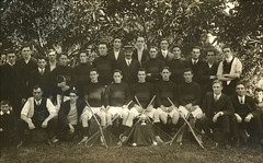 Williamstown Lacrosse Club - Spittle Cup winning team 1911