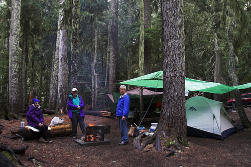 Mt Rainier NP Camping by Bev and Steve (Almost back in the USA), on Flickr