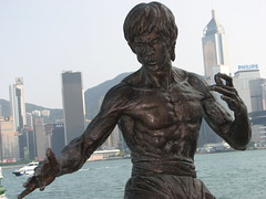 Bruce Lee Statue, Hong Kong