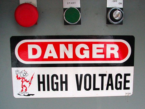 High Voltage - by oskay on Flickr
