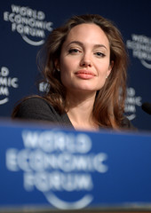 Angelina Jolie - World Economic Forum Annual Meeting Davos 2005 by World Economic Forum
