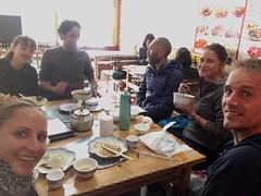 gemütliches Beisammensein mit Kamilla, Guy, Stefan und Jessica