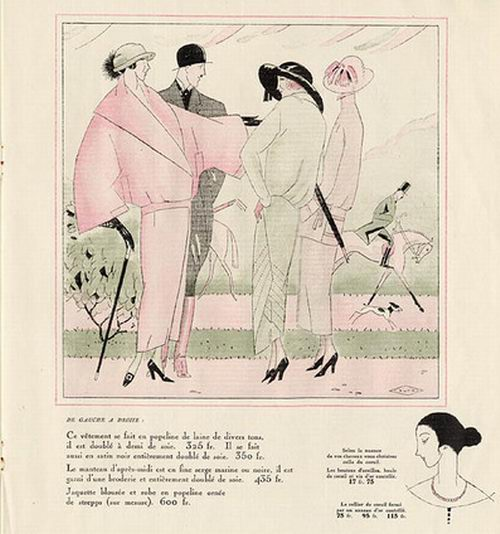 Jean-Raoul Naurac, Les Modes Elegantes, 1922