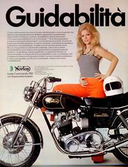 anni-70-MOTO-NORTON-750-Commando-Advert