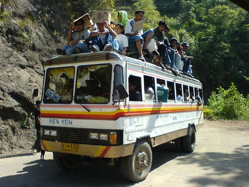 Mt. Amuyao, Mountain Province to Benguet bus trip Philippines Buhay Pinoy  Ngayon Filipino Pilipino  people pictures photos life Philippinen