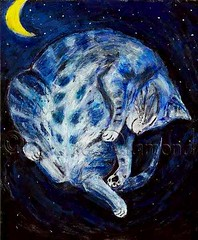 """The Sleeping Cat"" by Jane Diamond by Jane Diamond"