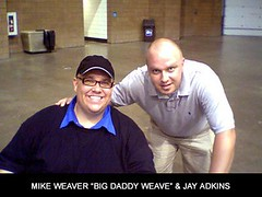 Jay with Mike Weaver of Big Daddy Weave