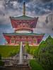Photo:噴水庭園から平和大塔 III By
