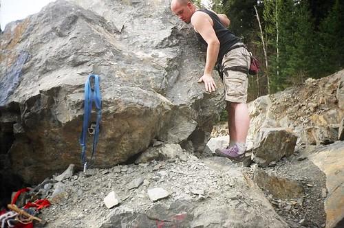 Scott Climbing, Summer 2006