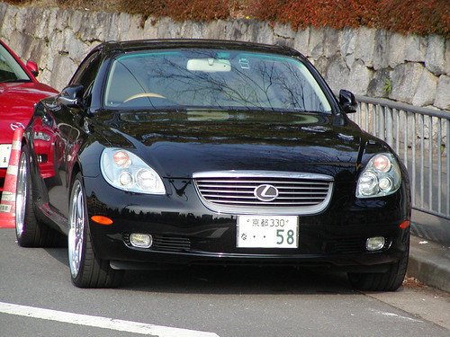 cool Lexus in Japan