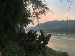 Sonnenuntergang in Luang Prabang