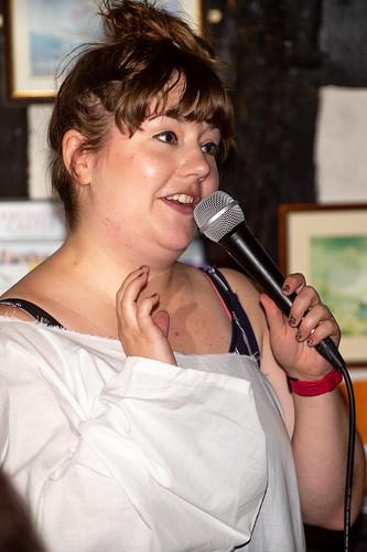 Katie Prtichard at Hastings Fringe Comedy Festival 2018