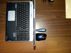 Microsoft Bluetooth Dongle and Mouse