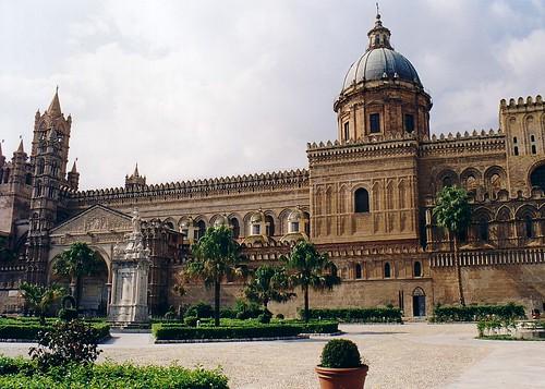 La cattedrale di Palermo (Palermo Cathedral, Sicily, Italy)
