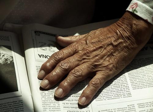 Las manos de la Edad