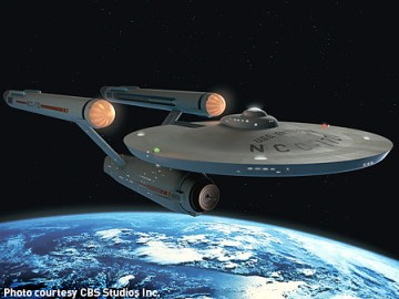 New CGI version of Star Trek´s USS Enterprise