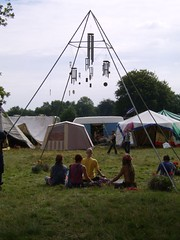 Meditation at Big Green Gathering 2006 Festival