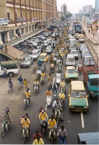 Traffic, Cotonou (Benin)
