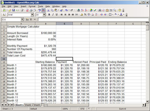 An Introduction To Compound Interest With Spreadsheets