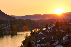 Sunset Eglisau