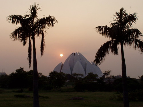 New Delhi Lotus Temple by Chhanda.