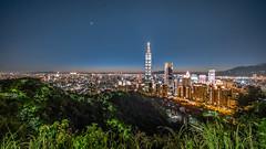 象山 超然亭 - 台北夜景