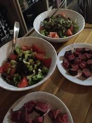 Salad with grilled steak #naturallyglutenfree #glutenfree #paleo