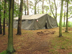 Tent op kamp