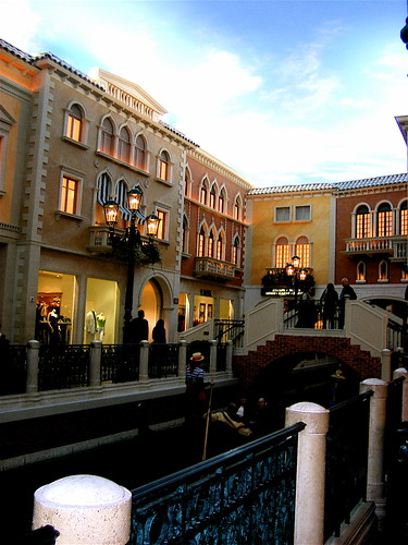 Inside the Venetian Hotel