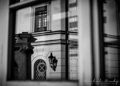 Reflection in window