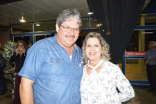 Eduardo Pinho e Carmelita Mendes