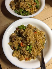 #homemade #glutenfree pineapple fried rice