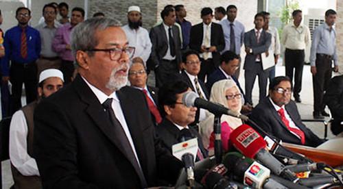 Chief Election Commissioner KM Nurul Huda